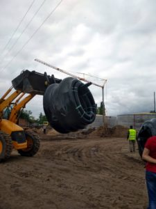 трубопровод для отопления ТМ «АВСТРОИЗОЛ» на территории биогазового комплекса rhfy