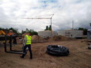 трубопровод для отопления ТМ «АВСТРОИЗОЛ» на территории биогазового комплекса