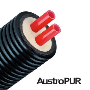 труба ППУ предизолированная austroisol PUR двойная