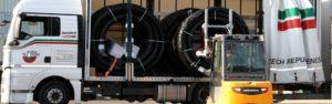Доставка предварительно изолированных труб для теплотрасс в Украине, из Киева
